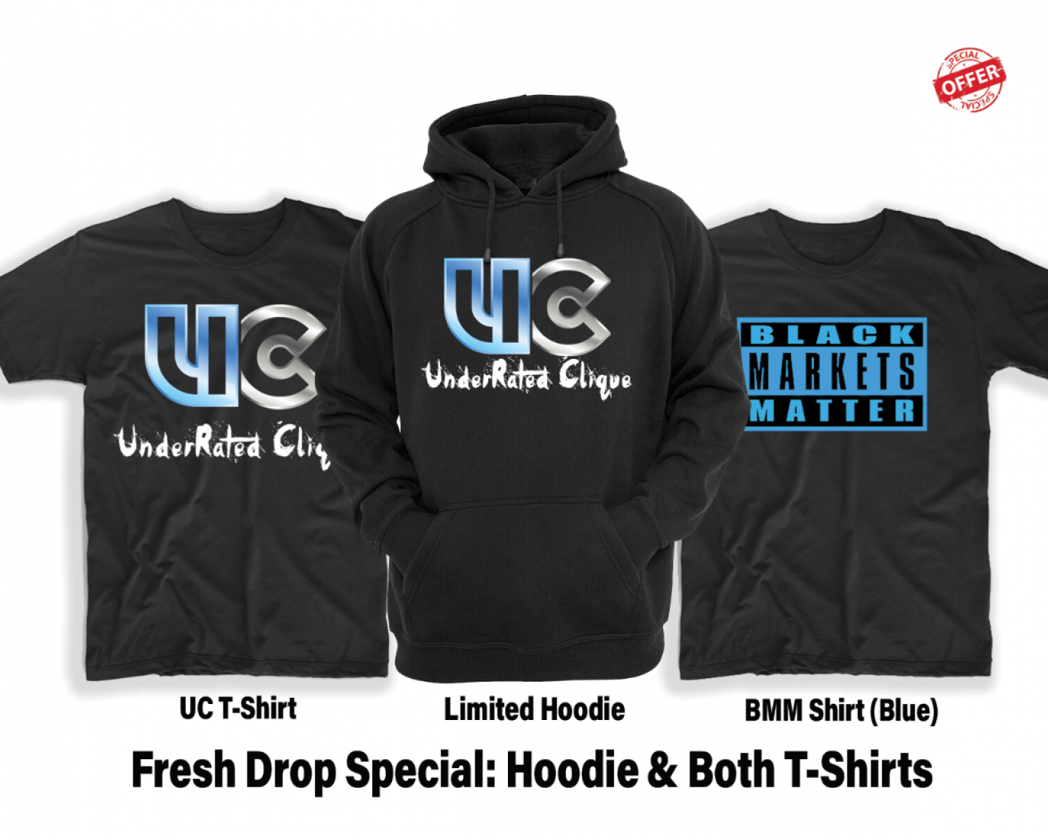 UC & BMM Special (Limited Sizes Left)